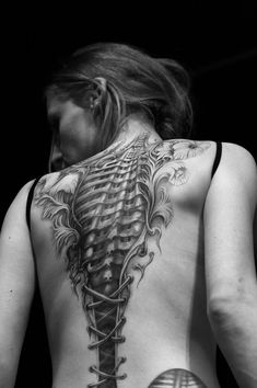 corset tattoo BW by psychodelic-candy on deviantART