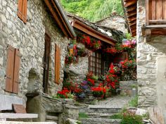 Bonneval sur Arc, Savoie, French Alps ~ (classified one of the most beautiful villages of France) ~ 5,873ft altitude