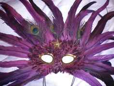 Speaking of Jazz, another of my Mardi Gras masques.
