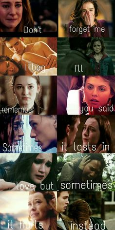 ~Adele - Someone like you~ ❤Tris, Rose, Bella, Hermione, Gwendolyn, Annabeth, Clary, Wanda, Lena, Katniss, Tauriel, Hazel❤ ❤Divergent, Vampire Academy, Twilight, Harry Potter, Ruby Red, Percy Jackson, The Mortal Instruments, The Host, Beautiful Creatures, The Hunger Games, The Hobbit, The Fault in our Stars❤