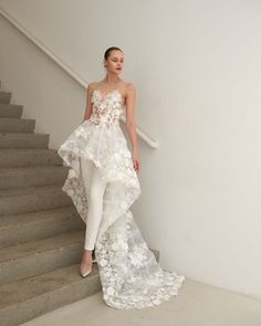 two: the best of spring 2019 New York Bridal Fashion Week - bride. Part two: the best of spring 2019 New York Bridal Fashion Week - bride. - Part two: the best of spring 2019 New York Bridal Fashion Week - bride. Bridal Dresses, Prom Dresses, Mermaid Dresses, Bridal Outfits, Casual Dresses, Fashion Dresses, Casual Clothes, Fashion Clothes, Formal Dresses