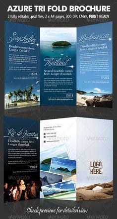 Fun Travel TriFold Brochure  Tri Fold Brochure Tri Fold