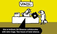 Best Ed Sheeran album ever (with many thanks to Modern Toss at the Guardian)