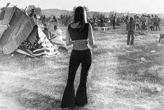 Item dans Classement des plus belles photographies de femmes lors du festival de Woodstock en 1969 !