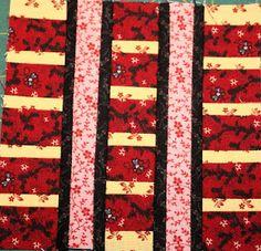 1880's sampler quilt: November 2011, Abacus block