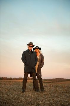 Emmylou Harris & Rodney Crowell by David McClister