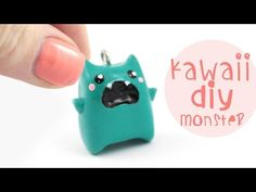 Monster! Kawaii Friday polymer clay charm tutorial