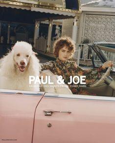 Rose Valentine stars in Paul & Joe's spring-summer 2018 campaign