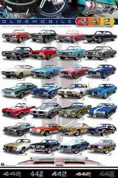 Oldsmobile 4-4-2 poster