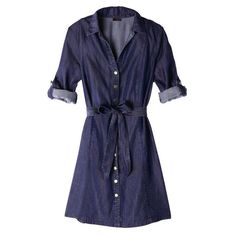 Get this denim-look dress. Perfect to go to brunch with your friends, ona laid-black date or to work on casual…
