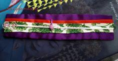 obi bracelet japanese fabric kanzashiland