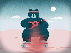 Bear skate 400px