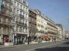 Lane the Anspachlaan connects lower- with higher-Brussels #belgium