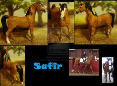Commission: repaint and cust Arabian stallion by Schleichgirl1976.deviantart.com on @DeviantArt