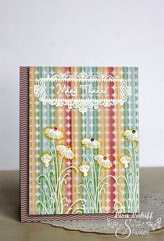 SweetStamps 7/15/14 Parchment (monthly challenge) + Anything Goes (weekly) challenge; DT Lisa