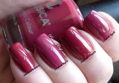 Jessica Custom Nail Colour Desire vs Chanel April   Pointless Cafe