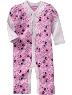 2-in-1 Printed One-Pieces for Baby