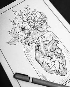 Pin by dalal on drawing ideas in 2019 dibujar arte, dibujos, Tumblr Drawings, Tumblr Art, Cute Drawings, Tattoo Drawings, Pencil Drawings, Tattoos, Inspiration Art, Art Inspo, Art Du Croquis