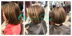 #Brunette, #Color, #Haircut, #Highlights, #ShortHaircut, #Style, #Stylist
