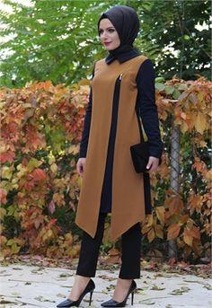 30 Ideas Dress Hijab Hitam For 2019 Islamic Fashion, Muslim Fashion, Modest Fashion, Fashion Dresses, Muslim Dress, Hijab Dress, Hijab Outfit, Modest Dresses, Modest Outfits