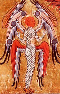 Fabulous creature from 'The Visions of Hildegard von Bingen'