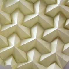 This is the gallery of my paper art. I adore modular origami technique, kusudamas and papercraft geometric objects. You can find here visual ideas, some diagrams and tutorials of my beautiful kusudamas. 3d Pattern, Tile Patterns, Textures Patterns, Pattern Design, Tessellation Patterns, Origami Techniques, Tesselations, Motifs Textiles, Modular Origami
