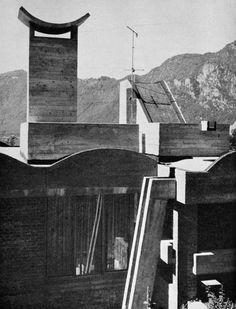 House at Campione d'Italia, Switzerland, 1962  (Dolf Schnebli)