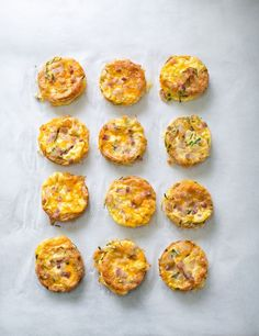 hello, Wonderful - COOKING WITH KIDS: PANCETTA CHIVE CHEDDAR QUICHES
