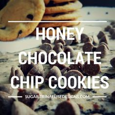 Soft, chewy, and irresistibly flavourful, this twist on chocolate chip cookies will become a recipe book staple! Honey Chocolate, Perfect Cookie, Latest Recipe, Baking Tips, Chocolate Chip Cookies, Macarons, Sugar, Book, Recipes