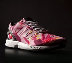 Stand out in the Adidas ZX Flux floral print trainers ! Mine soon ;)