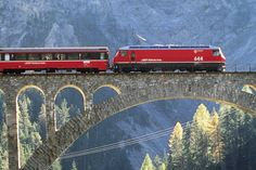 Scenic Bernina Express, Switzerland EURORAIL information for next trip The Places Youll Go, Cool Places To Visit, Places To Travel, Places To Go, Backpack Through Europe, Travel Through Europe, Bilbao, Honeymoon Around The World, Bernina Express