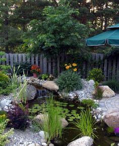 Backyard Pond Design Ideas 11