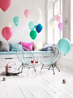 """My only design regret is the playroom,"" Clothilde Angstridden sighed. ""Inflating  new helium balloons every. single. day. really grates on one's nerves."""