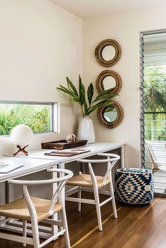 5 Stylish Studies - Queensland Homes- Highgate House