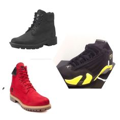 I HAVE THESE . Red , Black , Yellow ! Jordan Shoes Sneakers