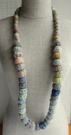 """""""C1"""" linen necklace 