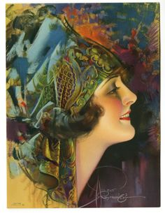 By Rolf Armstrong. 1920s