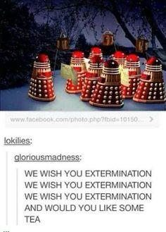 We wish you extermination!!