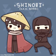 shinobi (忍び), or more commonly known as ninja. ・ω・  ♥ www.japanlover.me ♥