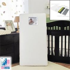 #giving L.A. #Baby #Double Comfort 2-in-1 Orthopedic Crib Mattress Infant to Toddler Compatible