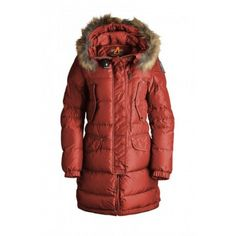 Women's Parajumpers Harraseeket Jackets Red Off, Cheap On Sale.