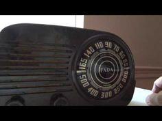 "*American*Radio*Design* - Greg Mercurio - Deco-Mid Century, Retro Styled Vintage Tube Radios   : FADA 845 six tube mid century radio   FADA ""CLOUD""..."