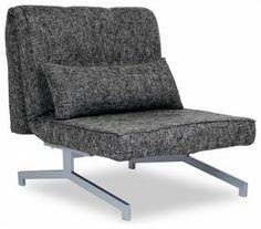 Modern Grey Sleeper Chair