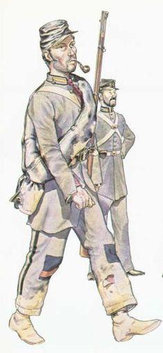 CS militia uniforms.