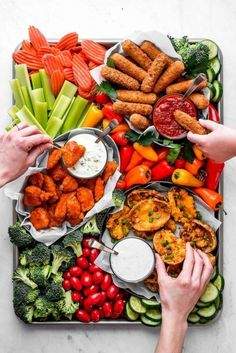 Easy Appetizer Snack Board & Charcuterie Board Ideas