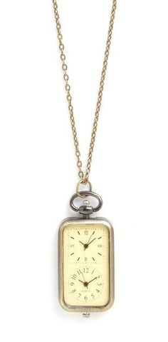 Modcloth Gold In The Zone Necklace
