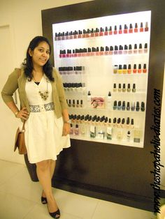 The Shopaholic Diaries - Fashion and Lifestyle Blog !: OOTD - Dressed up a little - 1010 The Nail Spa !