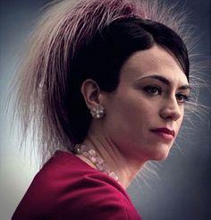 Maggie Siff as Rachel Menken in Mad Men