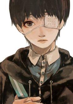 Kaneki Ken     Tokyo Ghoul: Re Fan Art by hotatarunba on Twitter