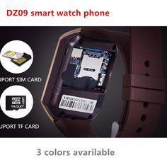 Smart Watch DZ09 unterstützung SIM Tf-karte Kamera Männer Frauen Bluetooth Armbanduhr Smartwatch für IOS Android Telefon VS U8 GV18 GT08 //Price: $US $13.41 & FREE Shipping //     #smartwatches